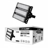 Прожектор светодиодный модульный с открытым радиатором EUROLAMP 150 Вт 5000 K LED-FLM-150/50 19500 Лм