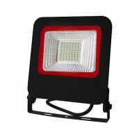 Прожектор світлодіодний EUROLAMP SMD чорний з радіатором NEW 50 Вт 6500 K LED-FL-50 (black) new 4500 Лм
