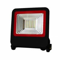 Прожектор світлодіодний EUROLAMP SMD чорний з радіатором NEW 30 Вт 6500 K LED-FL-30 (black) new 2700 Лм