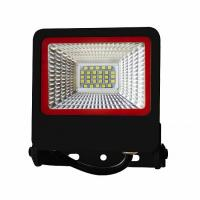 Прожектор світлодіодний EUROLAMP SMD чорний з радіатором NEW 20 Вт 6500 K LED-FL-20 (black) new 1800 Лм