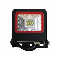 Прожектор светодиодный EUROLAMP SMD черный с радиатором NEW 10 Вт 6500 K LED-FL-10 (black) new 900 Лм