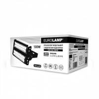 Прожектор світлодіодний модульний з відкритим радіатором EUROLAMP 100 Вт 5000 K LED-FLM-100/50 13000 Лм