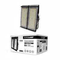 Прожектор светодиодный модульный с интегрированным радиатором EUROLAMP 100 Вт 5000 K LED-FLP-100/50 13000 Лм
