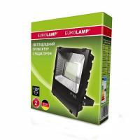 Прожектор светодиодный EUROLAMP SMD черный с радиатором 100 Вт 6500 K LED-FLR-SMD-100 11000 Лм