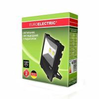Прожектор светодиодний EUROELECTRIC COB с радиатором NEW 50 Вт 6500 K LED-FLR-COB-50 5500 Лм