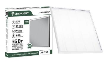 Светильник потолочный светодиодный ENERLIGHT AROSA 36 Вт 6500 К