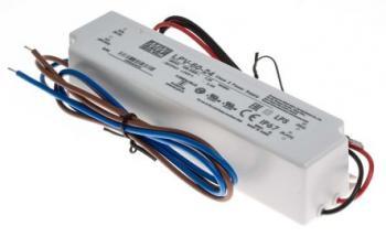 Импульсный блок питания Mean Well LPV-60-24 60 Вт. 24В, 2.5 А, герметичный