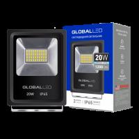 Прожектор светодиодный GLOBAL FLOOD LIGHT 20 Вт 5000 K 1-LFL-002 1200 Лм