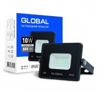 Прожектор светодиодный GLOBAL 10 ВТ 5000 К 1-GBL-02-LFL-1060 800 Лм