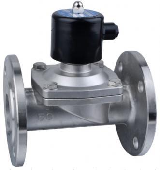 Электромагнитный клапан GAMA GFSS-65F DN 65 N.C. нержавеющая сталь фланцевый 0 - 6 bar