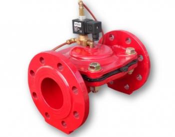 Электромагнитный клапан для полива Gevax DN 150 фланцевый GE-N150-F 0.5 - 10 бар N.C.