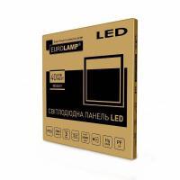 Светодиодный Промо-набор EUROLAMP LED Светильники 60х60 (панель) белая рамка 40 Вт 4000 K 2в1