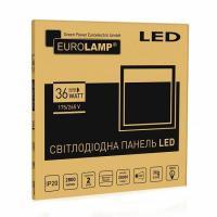 Светодиодный EUROLAMP LED Светильник 595х595 (панель) 36 Вт 4000 K