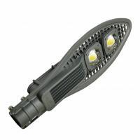 Вуличний консольний світлодіодний світильник EUROLAMP полегшений COB 100 Вт 6000 K
