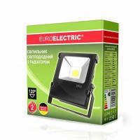 Прожектор светодиодний EUROELECTRIC COB с радиатором modern 20 Вт 6500 K LED-FLR-COB-20 2200 Лм