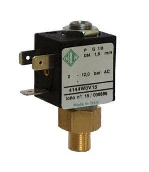 """Электромагнитный клапан для компрессоров 2/2 ходовой ODE 4144W0V15 N.O. 1/8"""" 0-12 bar"""