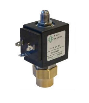 """Электромагнитный клапан для компрессоров 2/2 ходовой ODE 5315A0V25 N.O. 1/4"""" 0-18 bar"""