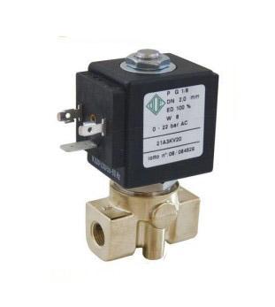"""Электромагнитный клапан для компрессоров 2/2 ходовой ODE 21A3ZV20D N.O. 1/8"""" 0-30 bar"""