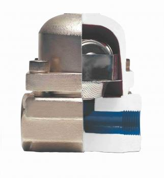 Конденсатовідвідник термостатистичний біметалевий AYVAZ TК-1 Ду 15 (фланцевий)