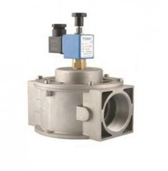 Електромагнітний клапан для природного газу TORK S8086-07 DN 40 P 500 mbar N.A. з ручним взводом